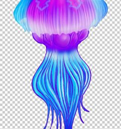 clipart jellyfish [ 728 x 1176 Pixel ]