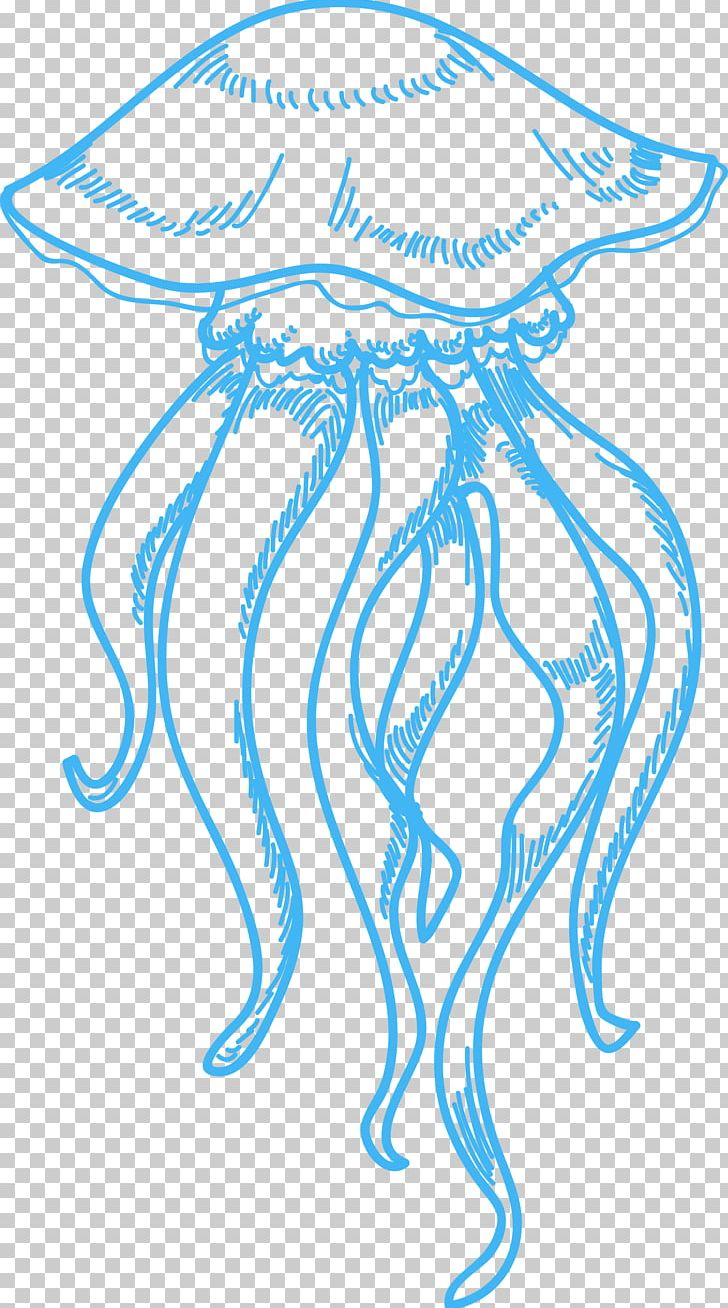 hight resolution of jellyfish drawing sea png clipart area circle clip art drawing ink free png download