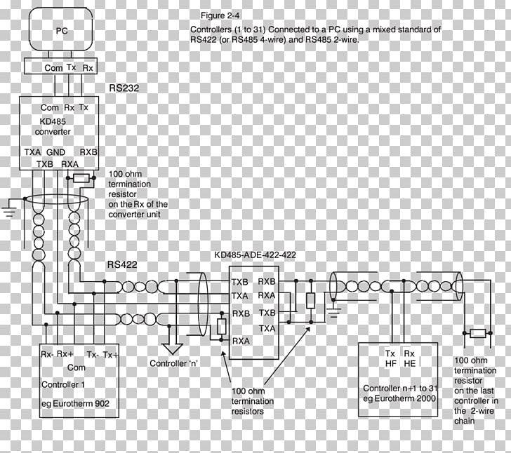 wiring diagram rs 485