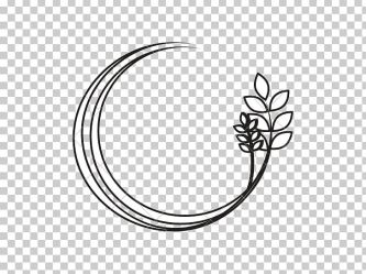 Leaf Branch Silhouette PNG Clipart Black And White Body Jewelry Border Branch Circle Free PNG Download