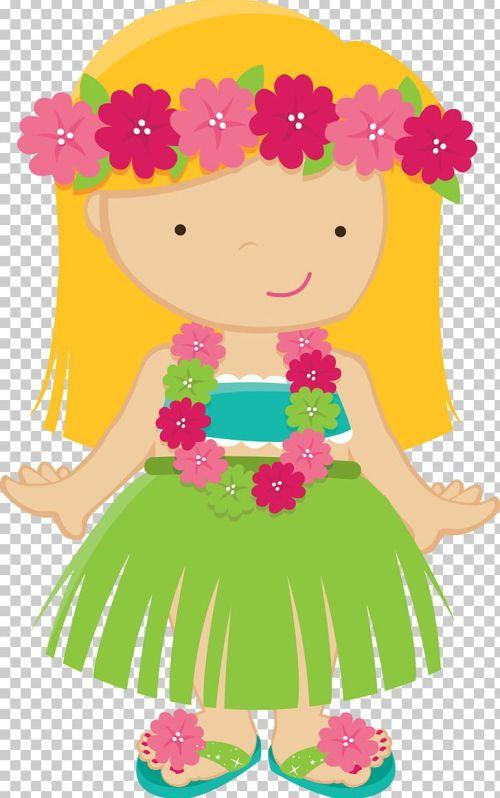 small resolution of hawaiian drawing luau png clipart aloha art artwork baby girl cartoon free png download