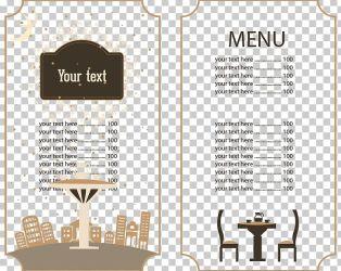 Cafe Menu Brunch Restaurant Food PNG Clipart Brand Brochure Christmas Continental Vector Dessert Free PNG Download