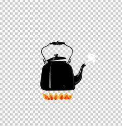 Boiling Kettle Fire Illustration PNG Clipart Balloon Cartoon Black Black Kettle Boiling Water Boy Cartoon Free