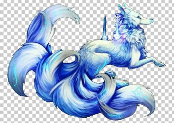 fox tailed kitsune nine arctic wolf gumiho anime tails clipart kotlc wilde nick imgbin snow hair gray animals zapisano rp
