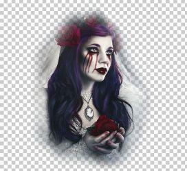 Gothic Art Dark Fantasy Fantastic Art PNG Clipart Abstract Art Art Artist Bayan Resimleri Black Hair