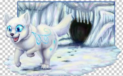 wolf arctic anime clipart whiskers snow drawing