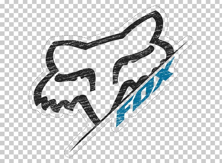 fox racing logo sticker