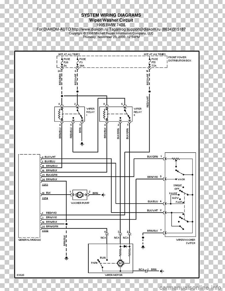 1995 bmw 740il wiring diagram
