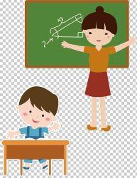 Student Teacher Template Classroom School PNG Clipart Boy Cartoon Cartoon Teacher Child Class Free PNG Download