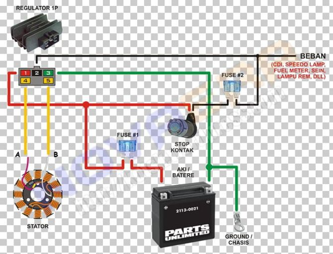 wiring diagram honda motorcycle electrical cable png