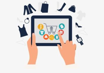 Online Shopping Icon PNG Clipart Cart Clothing Finger Flat Icon Clipart Free PNG Download