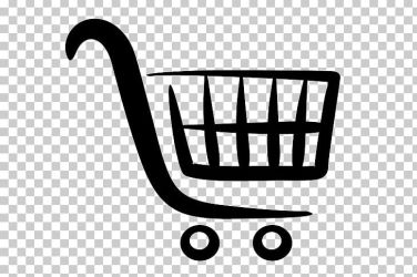 Shopping Bags & Trolleys Shopping Cart Logo PNG Clipart Area Bag Black Black And White Computer