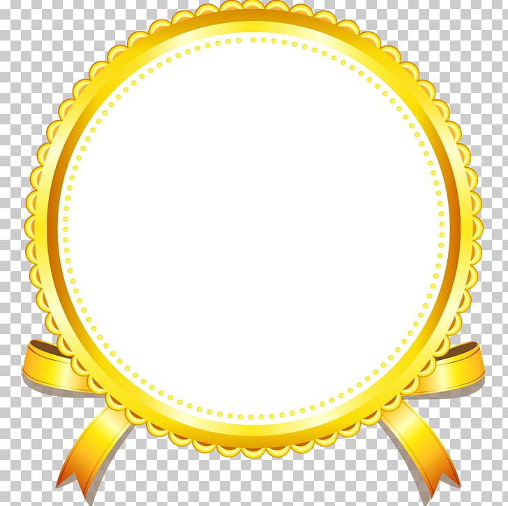 gold yellow frame png