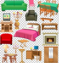 Furniture Window Living Room House PNG Clipart Bed Bedroom Bedroom Furniture Sets Cartoon Ceiling Free PNG