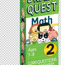 Brain Quest Grade 2 Math Science Quest Quiz Sixth Grade Workbook PNG [ 1263 x 728 Pixel ]