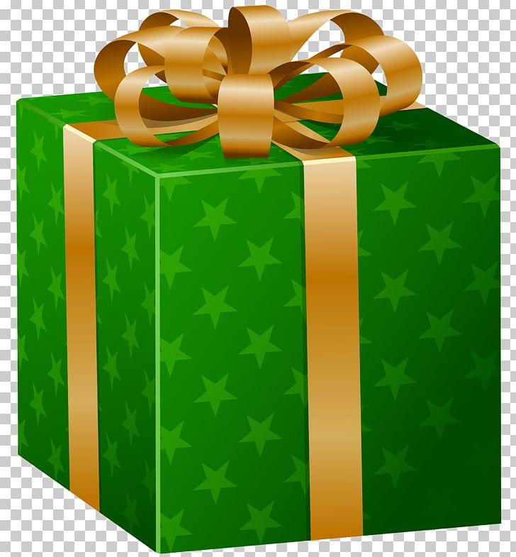 Christmas Gift Box Png Clipart Art Green Box Christmas Christmas Gift Clip Art Free Png Download