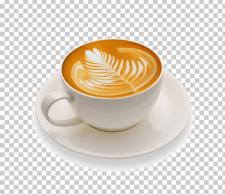 latte art white coffee