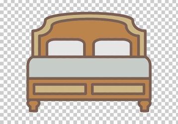 Chair Bed Furniture Wood PNG Clipart Angle Bed Boxspring Cartoon Chair Free PNG Download