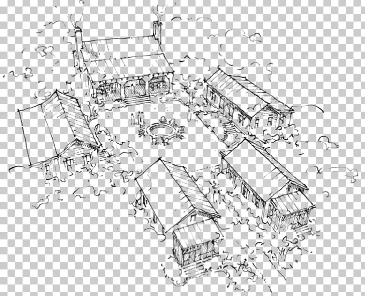 house drawing architecture sketch