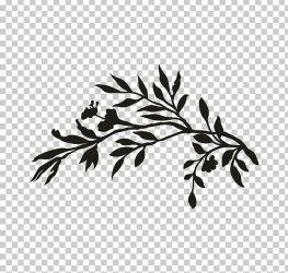 Twig Wedding Invitation Plant Stem Leaf Black PNG Clipart Black Black And White Black Leaf Branch