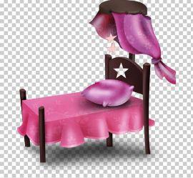 Sleep Bed Room PNG Clipart Bed Bedroom Blog Cartoon Cartoon Pink Free PNG Download