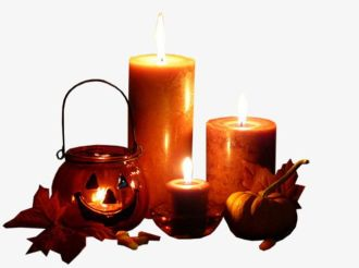Image result for halloween candles clipart""