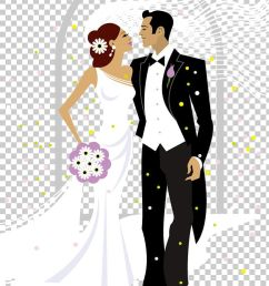 sweet bride and groom wedding illustration png clipart bride bride and groom brides cartoon clip art  [ 728 x 1111 Pixel ]