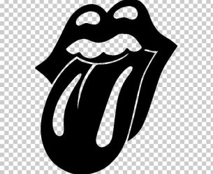 The Rolling Stones Tongue PNG Clipart Artwork Beak Black Black And White Cartoon Free PNG Download