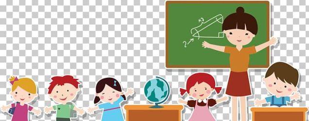 Student Teacher Cartoon PNG Clipart Art Cartoon Child Class Classroom Free PNG Download