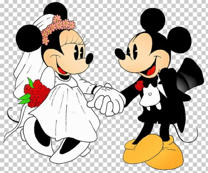 Mickey Mouse Minnie Wedding Invitation The Walt Disney