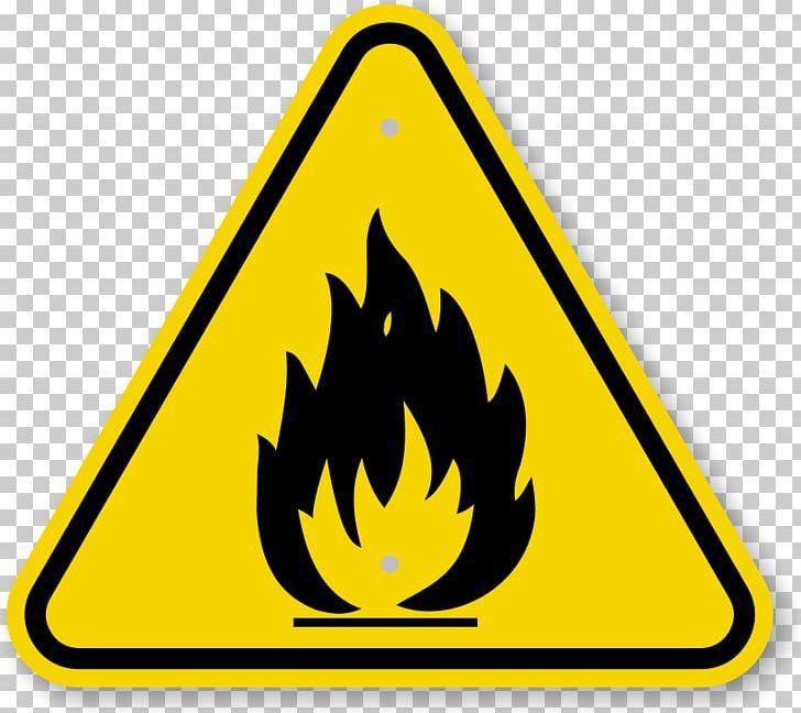 hazard symbol fire safety