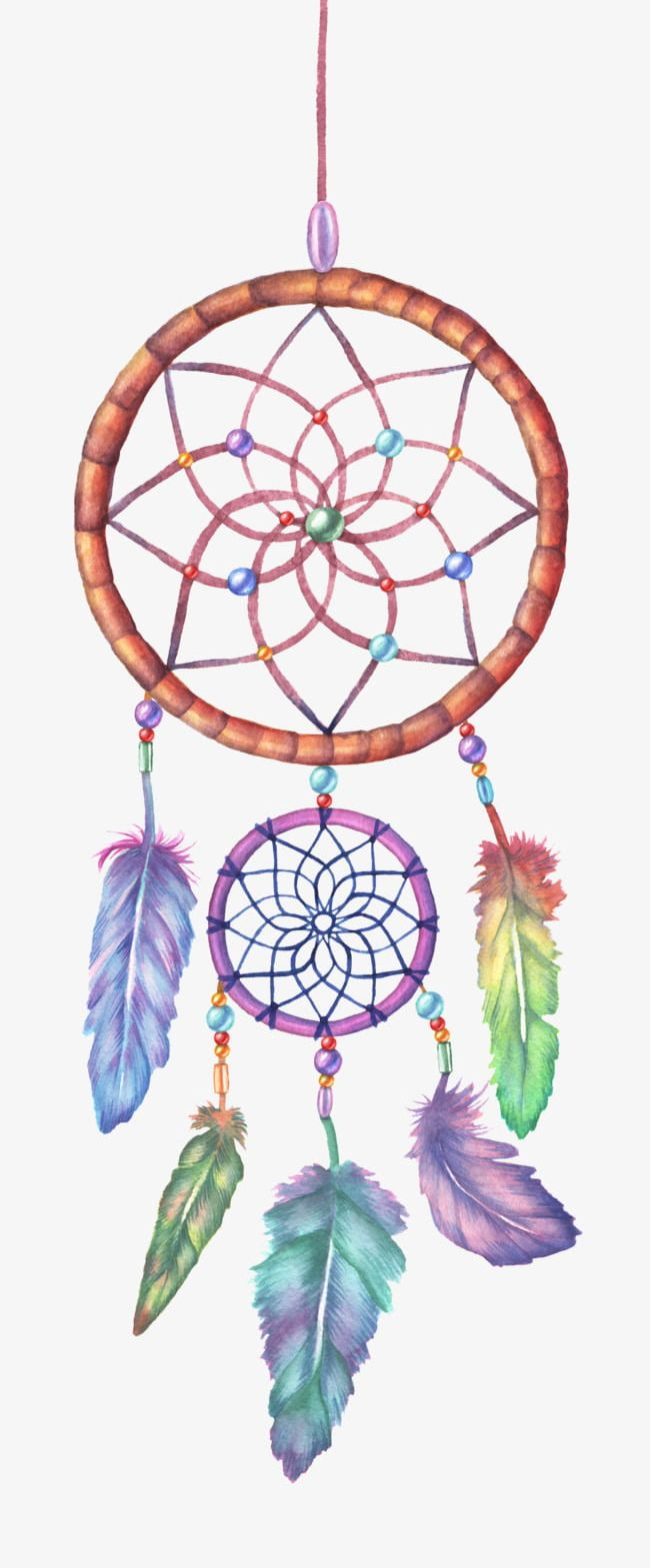 color dreamcatcher png clipart