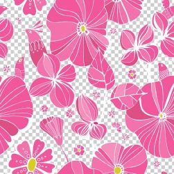Floral Design Pink Flower PNG Clipart Background Vector Creative Flowers Desktop Wallpaper Flora Flower Arranging Free