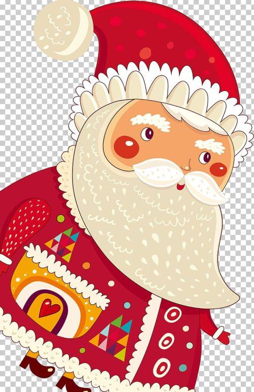 small resolution of santa claus christmas card cartoon png clipart art cartoon cartoon character cartoon eyes christmas card free