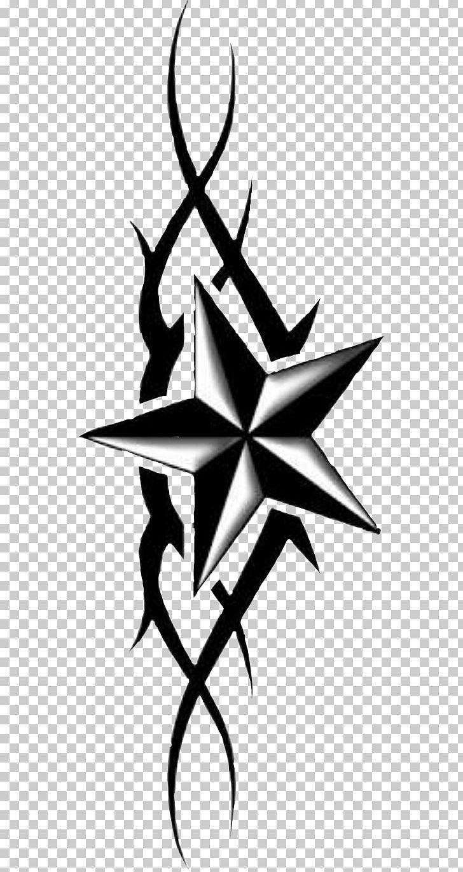 Star Tattoo Png : tattoo, Nautical, Sleeve, Tattoo, Flash, Clipart,, Artwork,, Black, White,, Comic,, Drawing