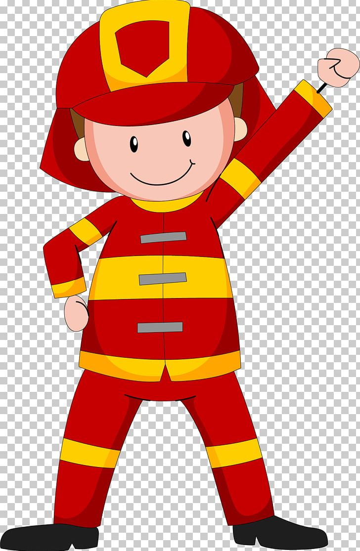 cartoon fireman png clipart