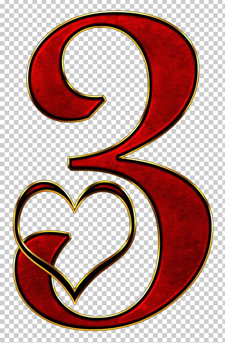 hight resolution of valentine number 3 png