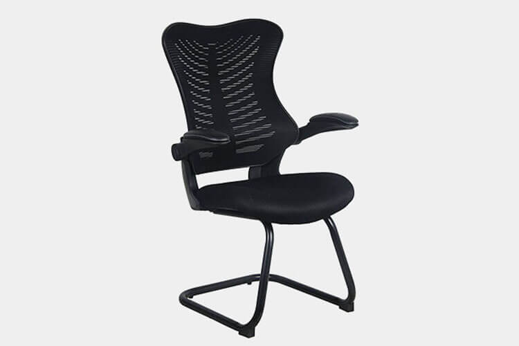 ergonomic chair comfortable step stool ikea 30 best office chairs improb factor reception guest with flip up arms mesh contour