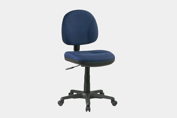 ergonomic chair without arms chairs for standing desks 30 best office improb star sculptured padded