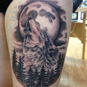 Wolf And Lion Tattoo Meaning