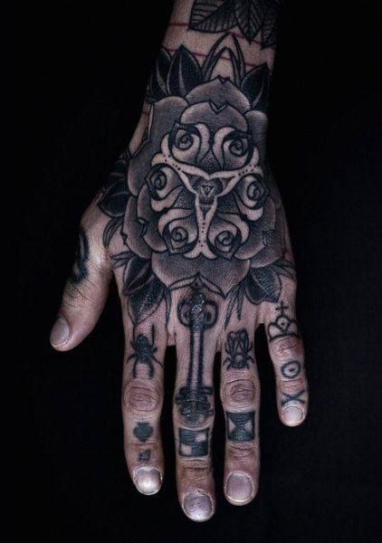 Cool Hand Tattoo Ideas For Men
