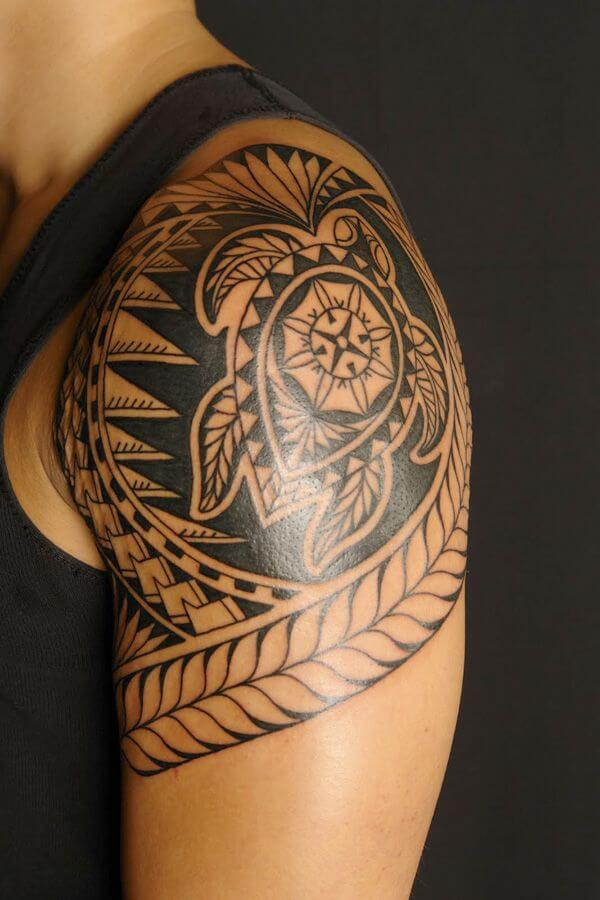 Tribal Tatoo On Shoulder : tribal, tatoo, shoulder, Power:, Tribal, Tattoos, Improb