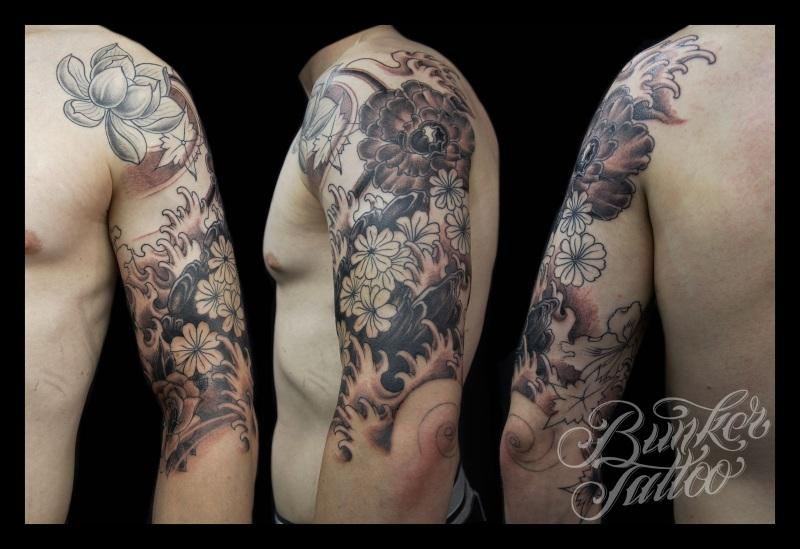 Baseball Tattoos Sleeves
