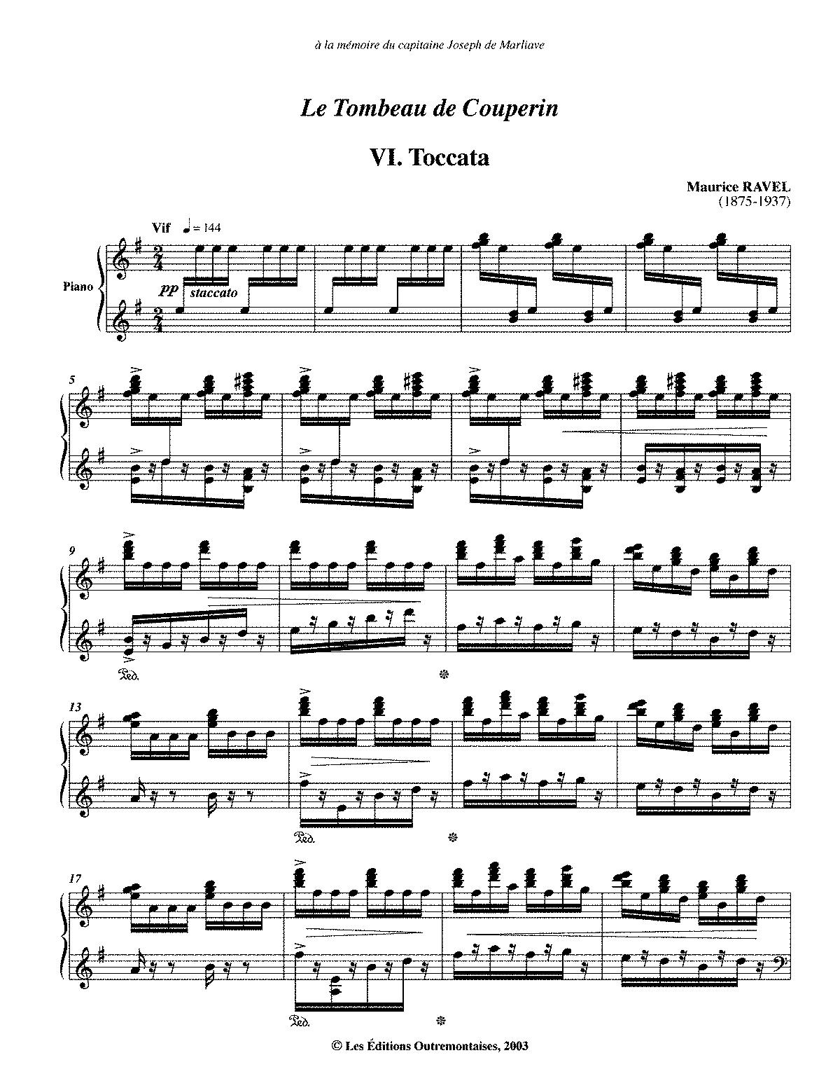 VI. Toccata
