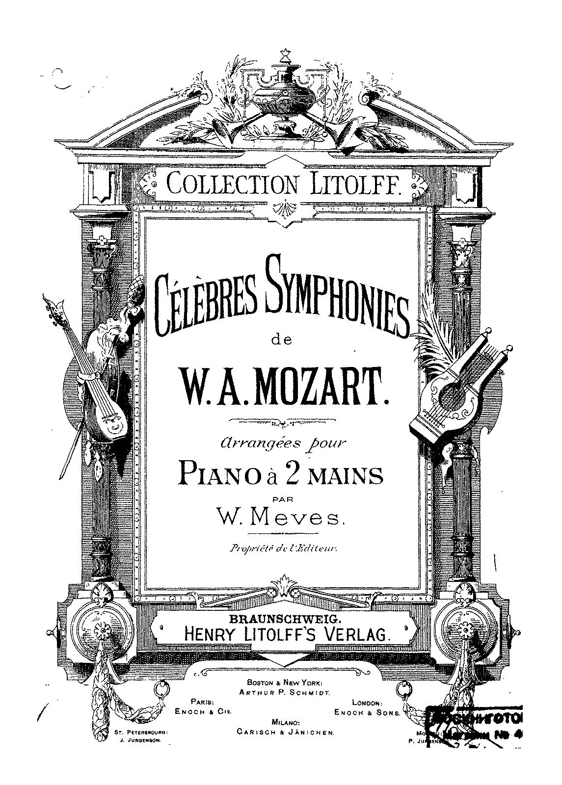 Symphony No.40 in G minor, K.550 (Mozart, Wolfgang Amadeus