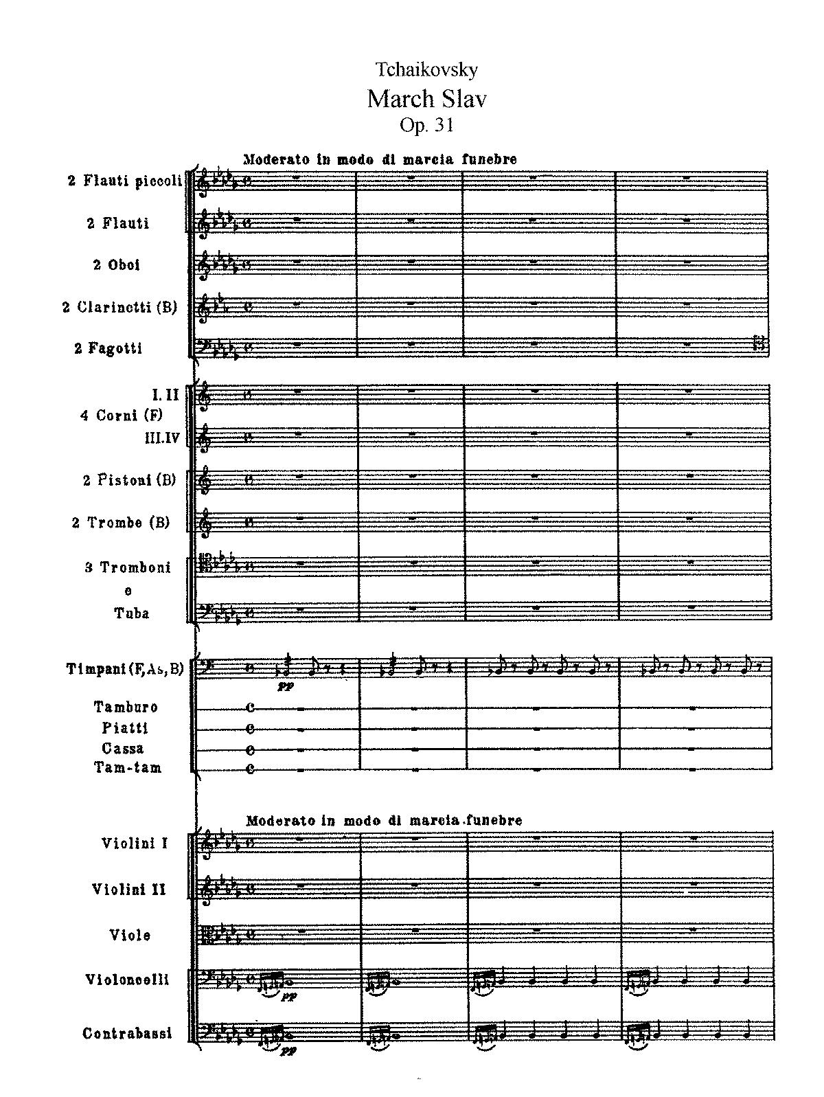 Čajkovskij, op. 31