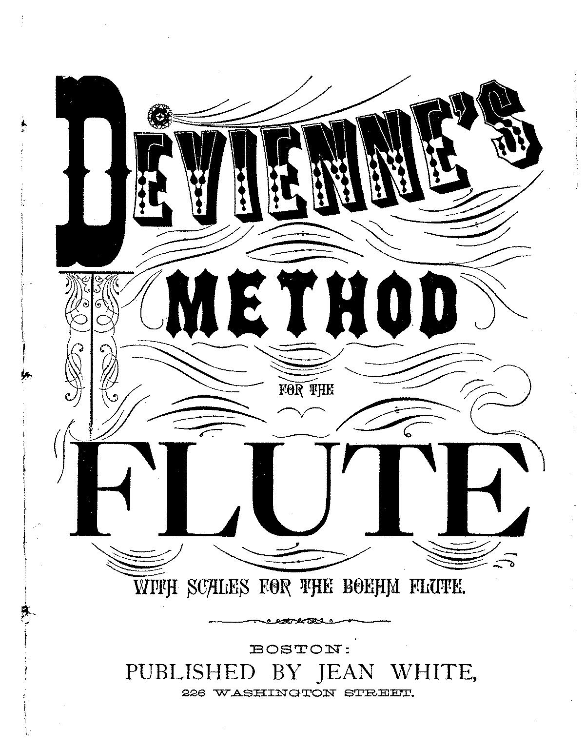 Nouvelle méthode théorique et pratique pour la flûte