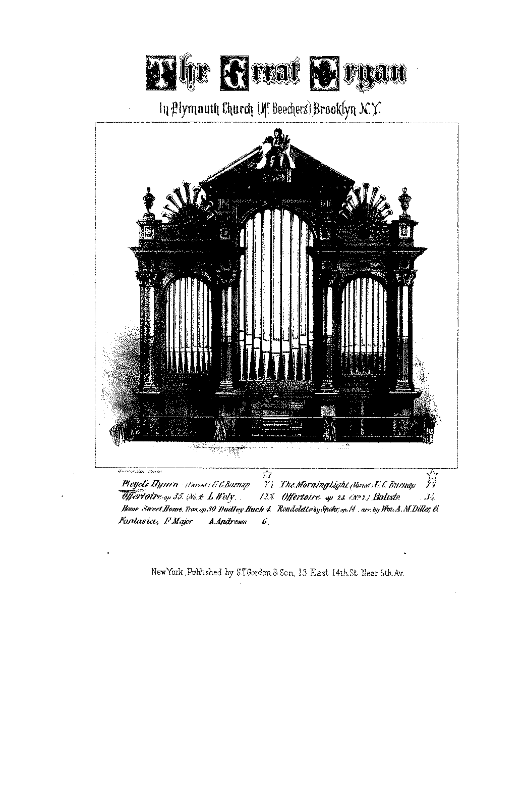 Pleyel's Hymn with Variations (Burnap, Uzziah Christopher