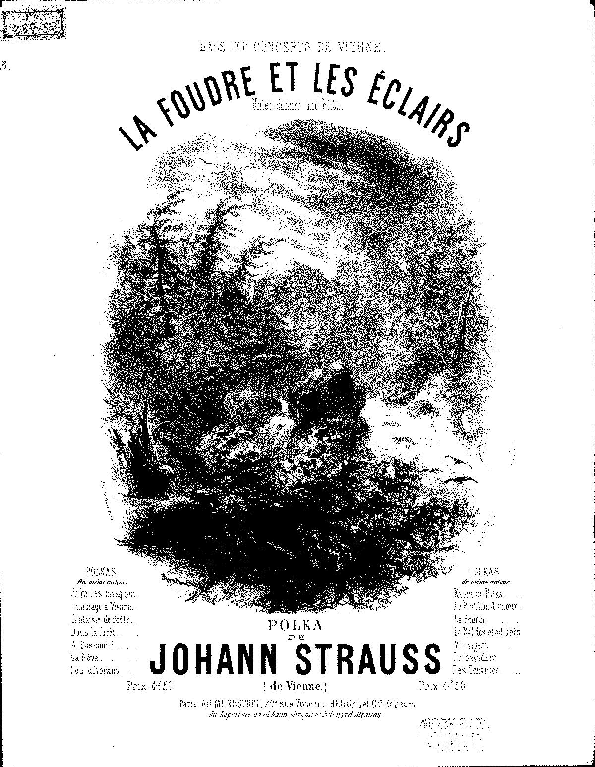 Unter Donner und Blitz, Op.324 (Strauss Jr., Johann