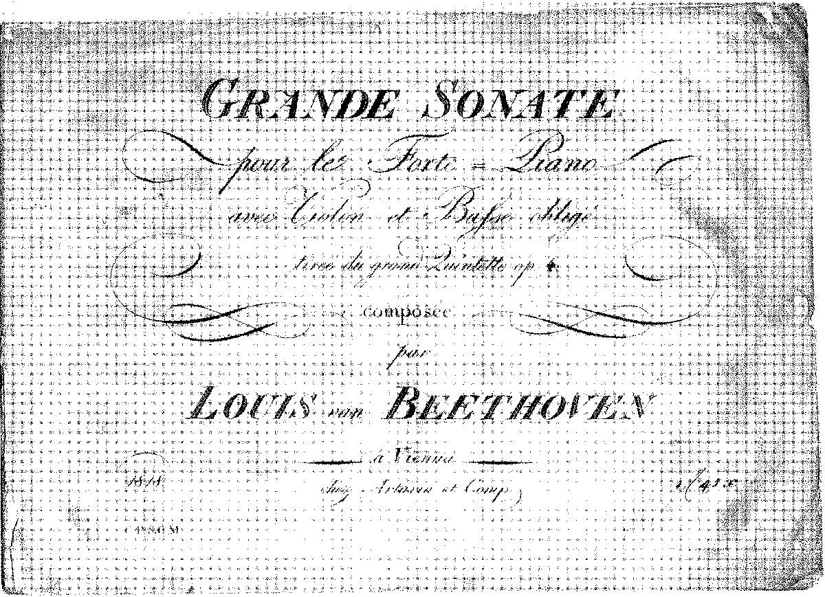 String Quintet in E-flat major, Op.4 (Beethoven, Ludwig